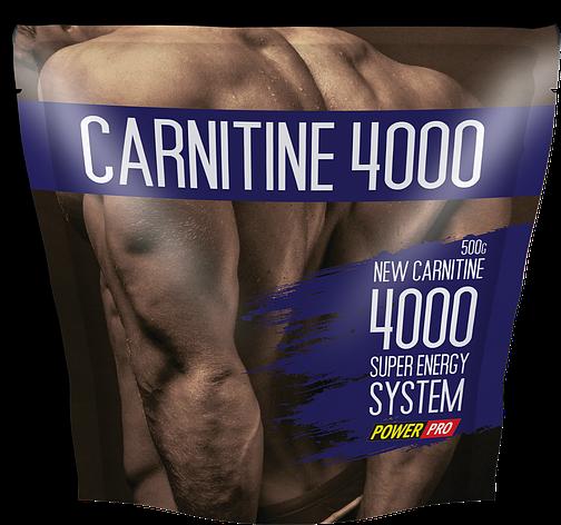 Л карнитин в порошке Power Pro Carnitine 4000 500 g, фото 2