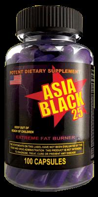 Cloma Pharma Asia Black 100 caps, фото 2