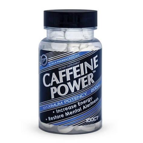 Hi-Tech Pharmaceuticals Caffeine Power 200 mg 100 tab, фото 2