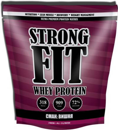 Strong FIT Whey Protein 909 g, фото 2