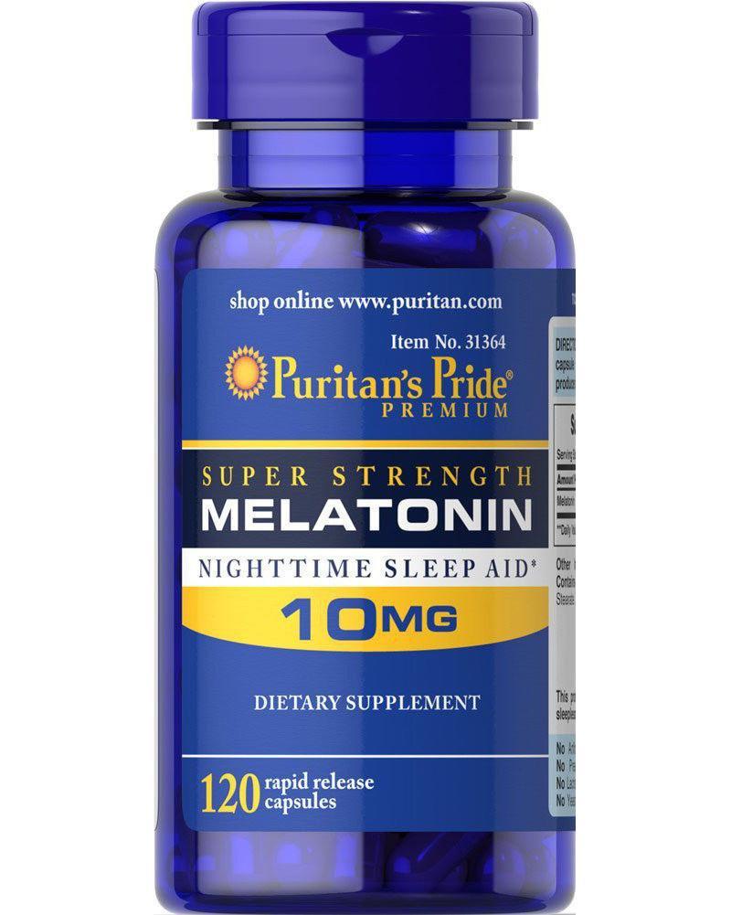 Puritan's Pride Melatonin 10 mg 120 caps