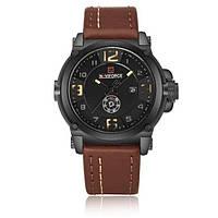 Спортивные мужские часы NAVIFORCE PLAZA BROWN 9099, фото 1