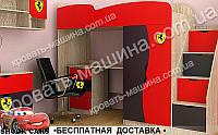 Кровать чердак ФЕРРАРИ ТИНЕЙДЖЕР МДФ, фото 1