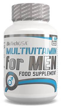 BioTech Multivitamin for men 60 tabs, фото 2