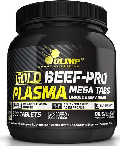 Olimp Gold Beef-Pro Plasma Mega Caps 300 tab, фото 2
