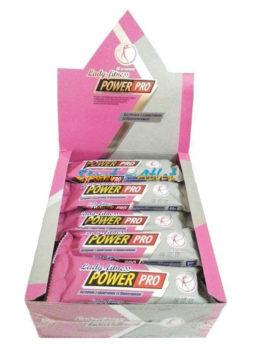 Power Pro Lady fitness с карнитином и бромелайном 20 х 50 g (вкусы уточняйте)