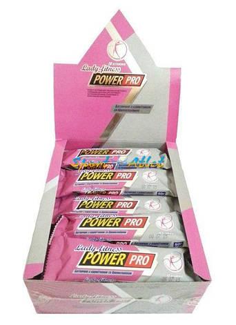 Power Pro Lady fitness с карнитином и бромелайном 20 х 50 g (вкусы уточняйте), фото 2