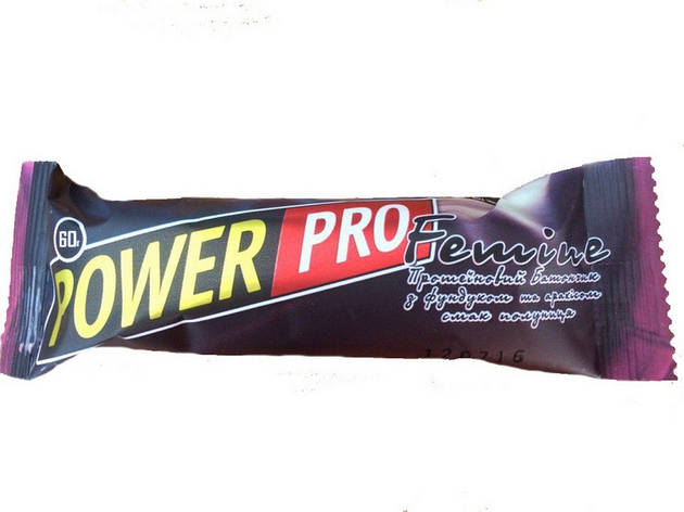 Power Pro Protein bar Femine 20 х 60 g, фото 2