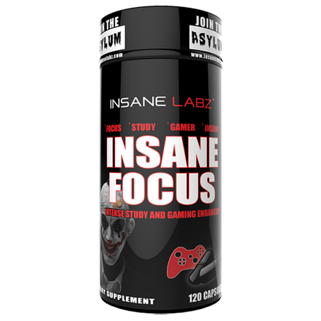 Insane Labz Insane focus 120 caps, фото 2