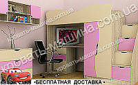 Кровать чердак БАНТИК ТИНЕЙДЖЕР МДФ, фото 1