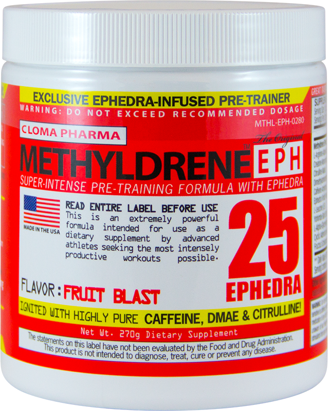 Cloma Pharma MethylDrene EPH 270 g