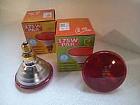 Лампа ІФЧ Zilight PAR38 175Вт червона