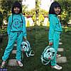 Спортивный костюм детский Philipp Plein 110, 116, 128, 134, 140 турецкая двунитка, расцветки, фото 3