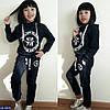 Спортивный костюм детский Philipp Plein 110, 116, 128, 134, 140 турецкая двунитка, расцветки, фото 6