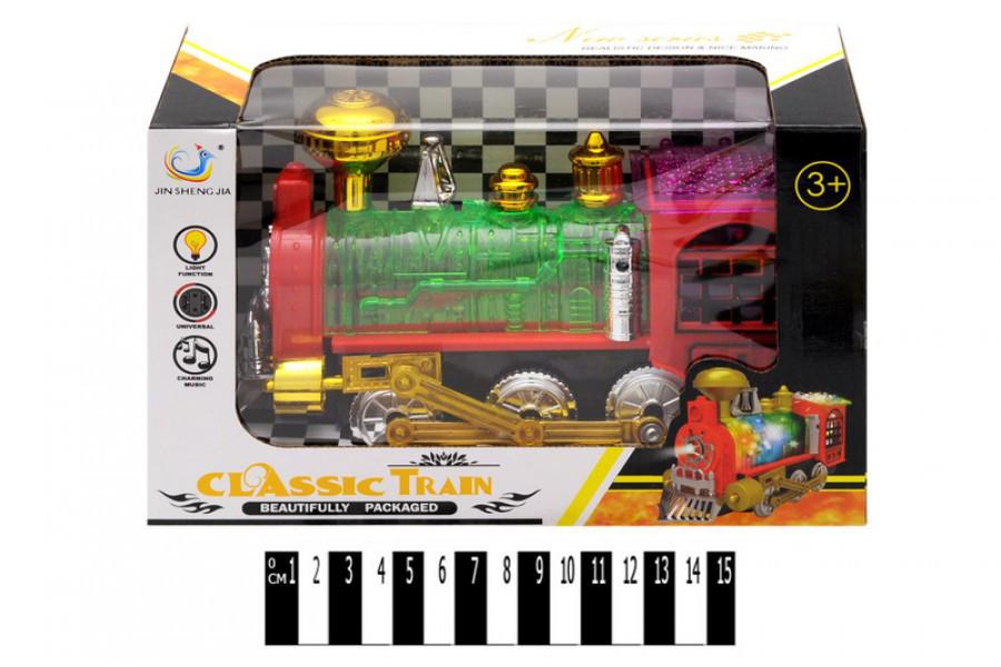 Паровозик детский JS-958A, муз. свет