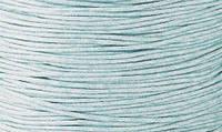 Вощенный шнур светло-голубой (примерно 80 м)