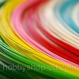 Вощенный шнур светло-голубой (примерно 80 м), фото 2