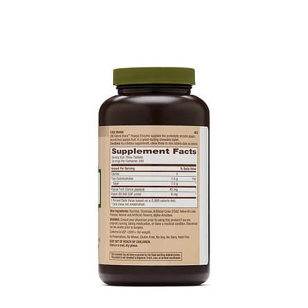 GNC Papaya Enzyme 600 tab, фото 2