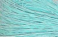 Вощенный шнур морская волна светлый (примерно 80 м)