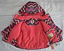 Куртка зимняя Зиг-Заг розовая (QuadriFoglio, Польша), фото 7