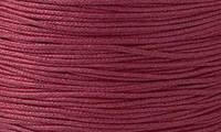 Вощенный шнур бордовый (примерно 40 м)