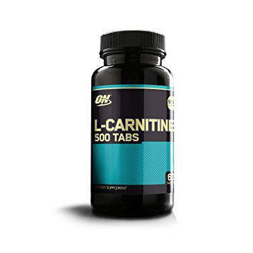Optimum Nutrition L-Carnitine 500 tabs 60, фото 2