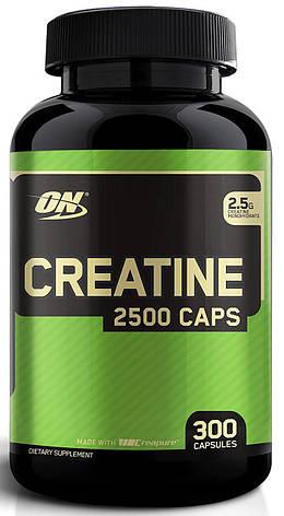Optimum Nutrition Creatine 2500 300 caps, фото 2