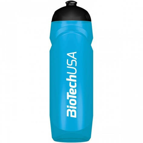 BioTech Waterbottle BioTech USA 750 ml blue, фото 2