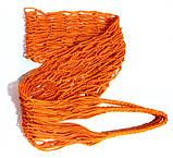 Торба, Эко сумка для покупок - Авоська - оранжевая, фото 4