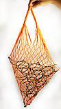 Торба, Эко сумка для покупок - Авоська - оранжевая, фото 3