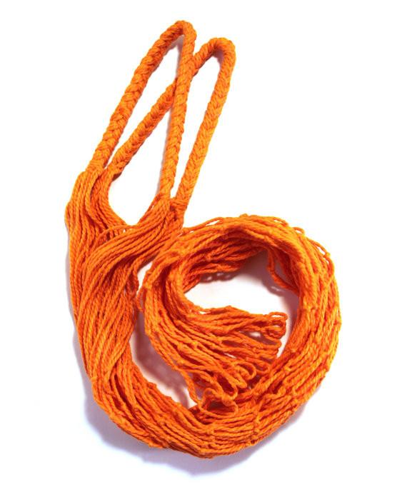 Торба, Эко сумка для покупок - Авоська - оранжевая