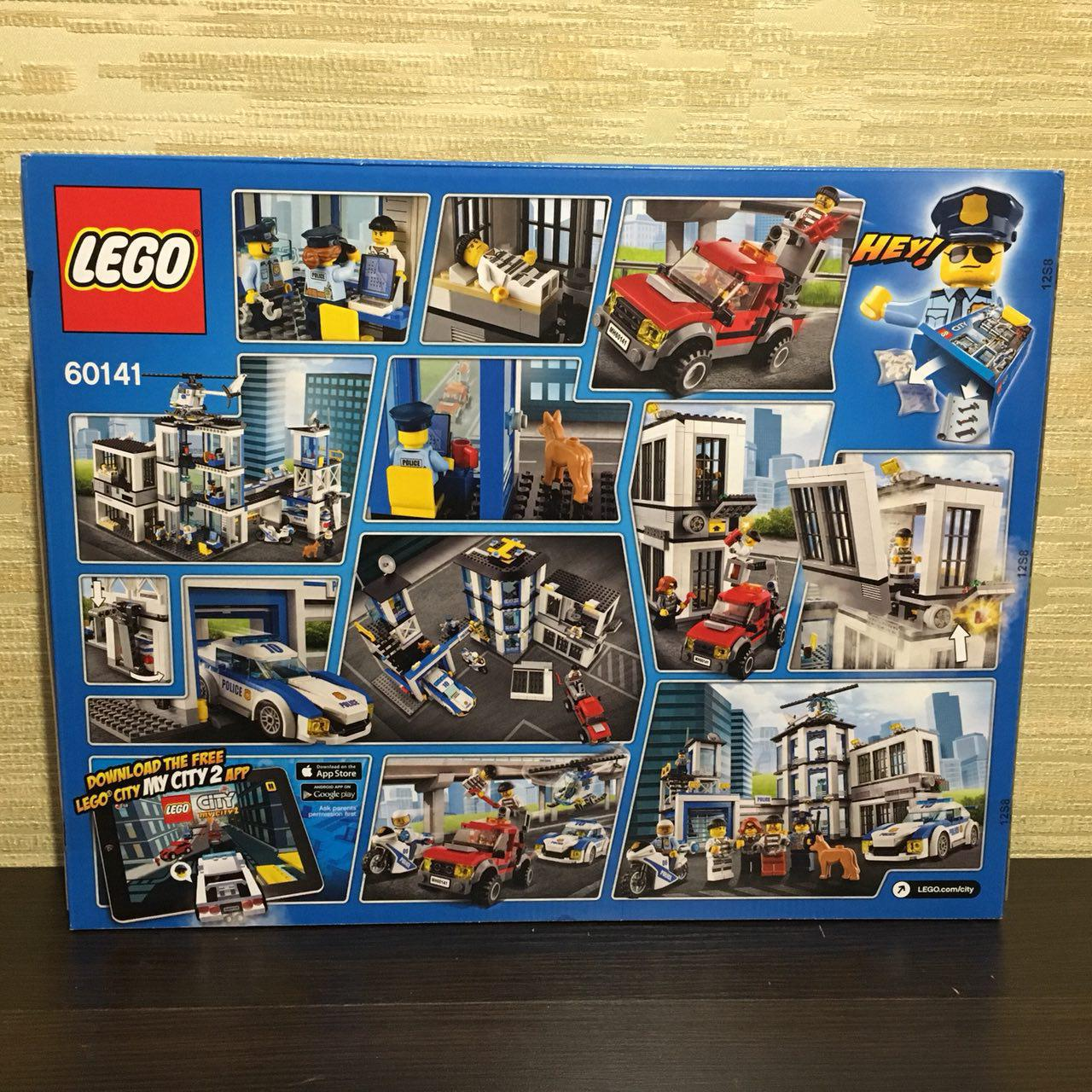 Lego City Police Station Building 60141 Toy