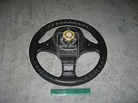 Колесо рулевое ВАЗ 2101-07,2121 Вираж Люкс (3х спиц.) (пр-во Россия)