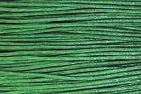 Вощенный шнур зеленый (примерно 160 м)