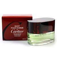 Мужские ароматы Cartier Must pour homme (теплый, восточно-пряный аромат)