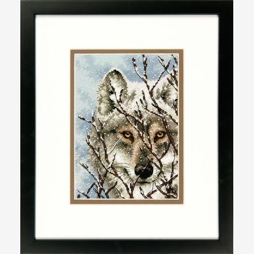Набор для вышивания крестом Волк/Wolf DIMENSIONS 70-65131