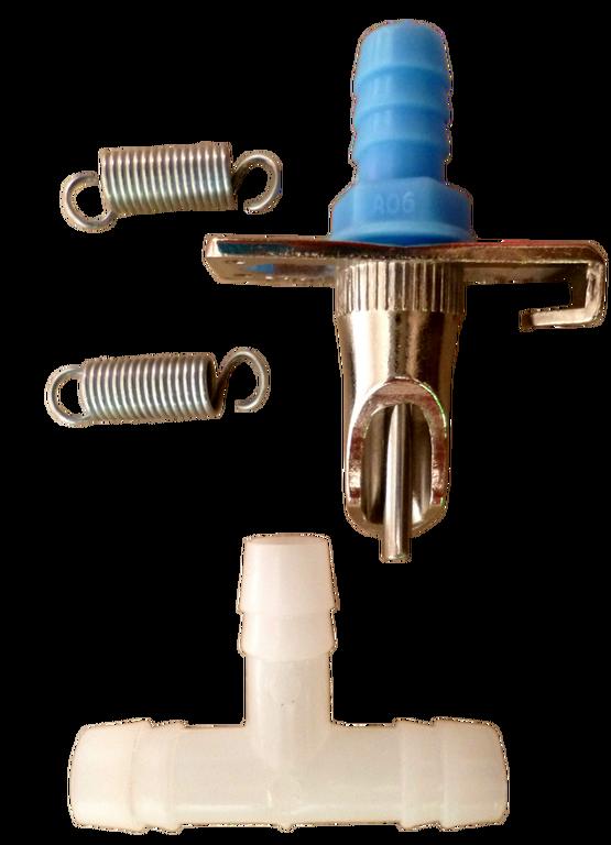 Ниппельная поилка для кролика под шланг 8 мм
