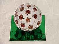 Футбольный мяч из конфет, фото 1