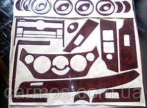 Декор панели (накладки на панель) Авео т250 (Aveo T250)26 шт, дерево. Турция.