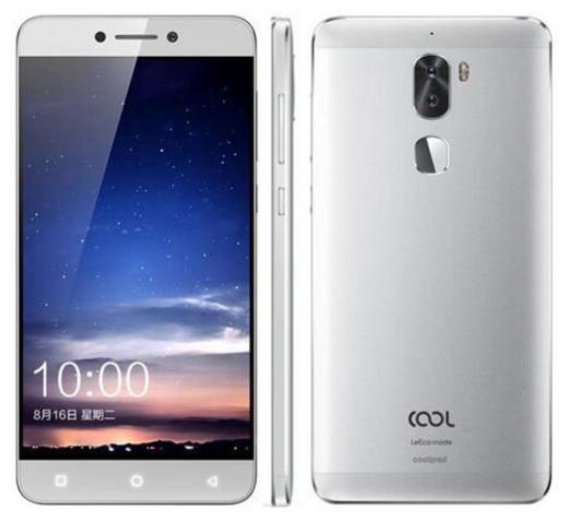 "LeEco Cool1 Silver 4/32Gb 5.5"" / 4G / Snapn 652 /13Мп Sony IMX258 / 4060мАч"