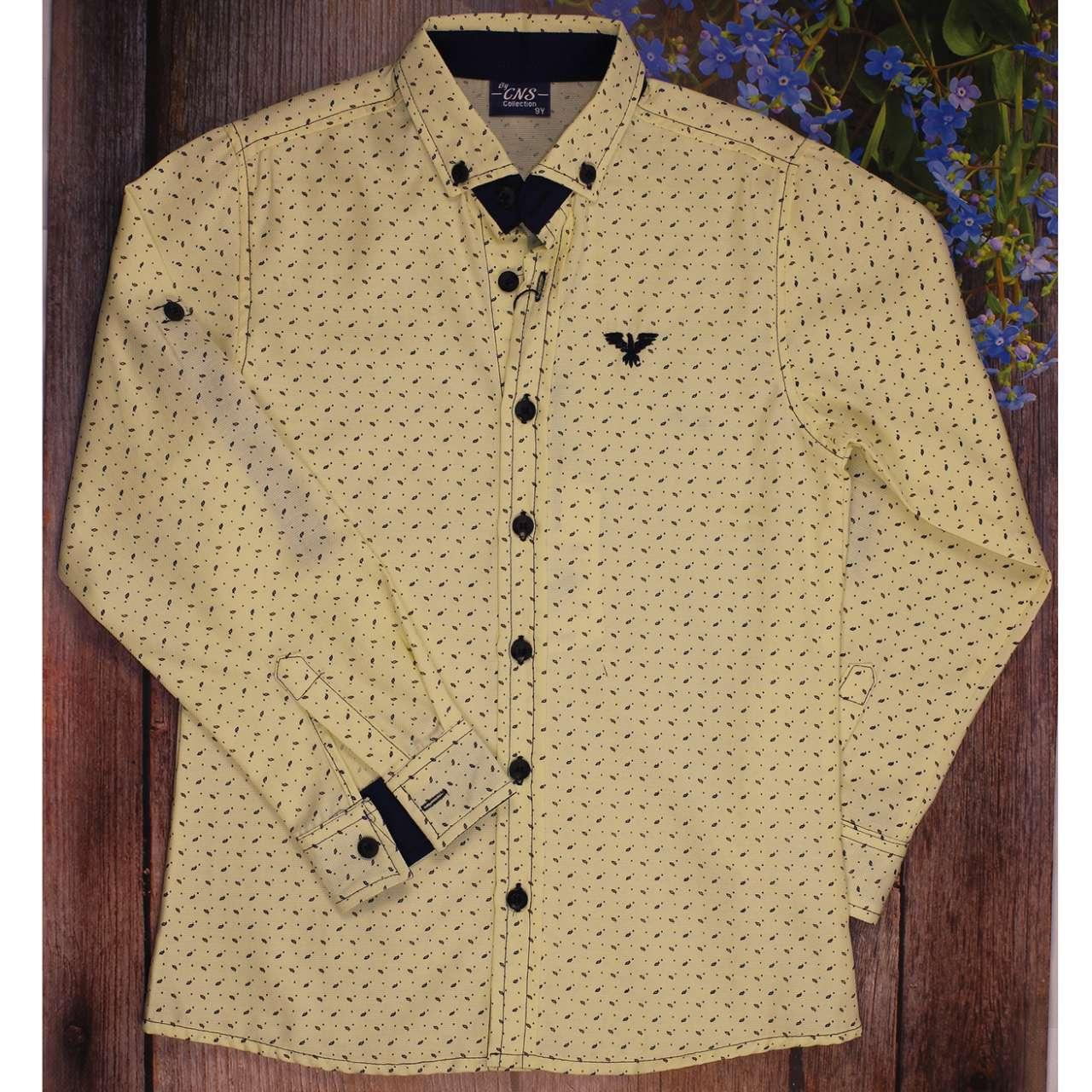 Рубашка с Длиным Рукавом для Мальчика Размер  9 cff676ade82