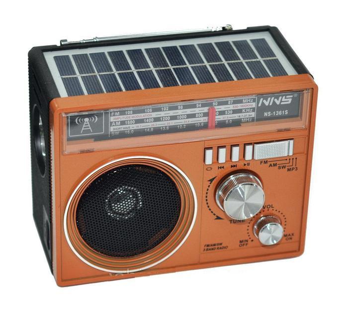 Переносной радиоприемник SOLAR NNS-1361 USB+SD
