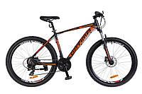 Велосипед 27.5-020 Optimabikes F-1 AM 14G (19) чорно-оранжевий