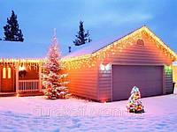 Новогодняя светодиодная гирлянда 100 диодов мульти RGB