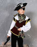 Новогодний костюм пират, размер от 110 до 140 см