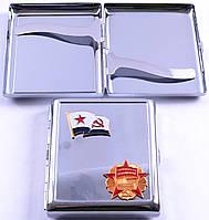"""Портсигар """"Октябрьская революция """" СССР AL206-2"""