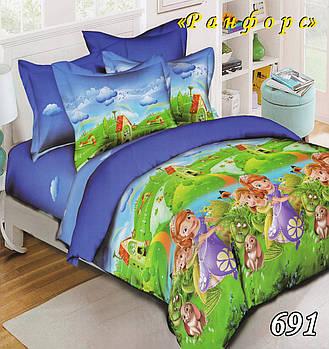 Полуторное постельное белье Тет-А-Тет 691
