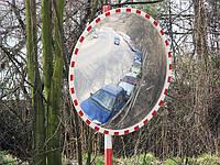 """Дорожное зеркало """"SATEL"""" со светоотражателями D-1200mm"""