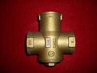 Термосмесительный клапан, для твердотопливного котла, Regulus TSV3B , DN25,температура 45, 55, 65°C .