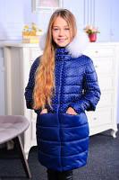 Зимняя куртка с мехом песца, фото 1